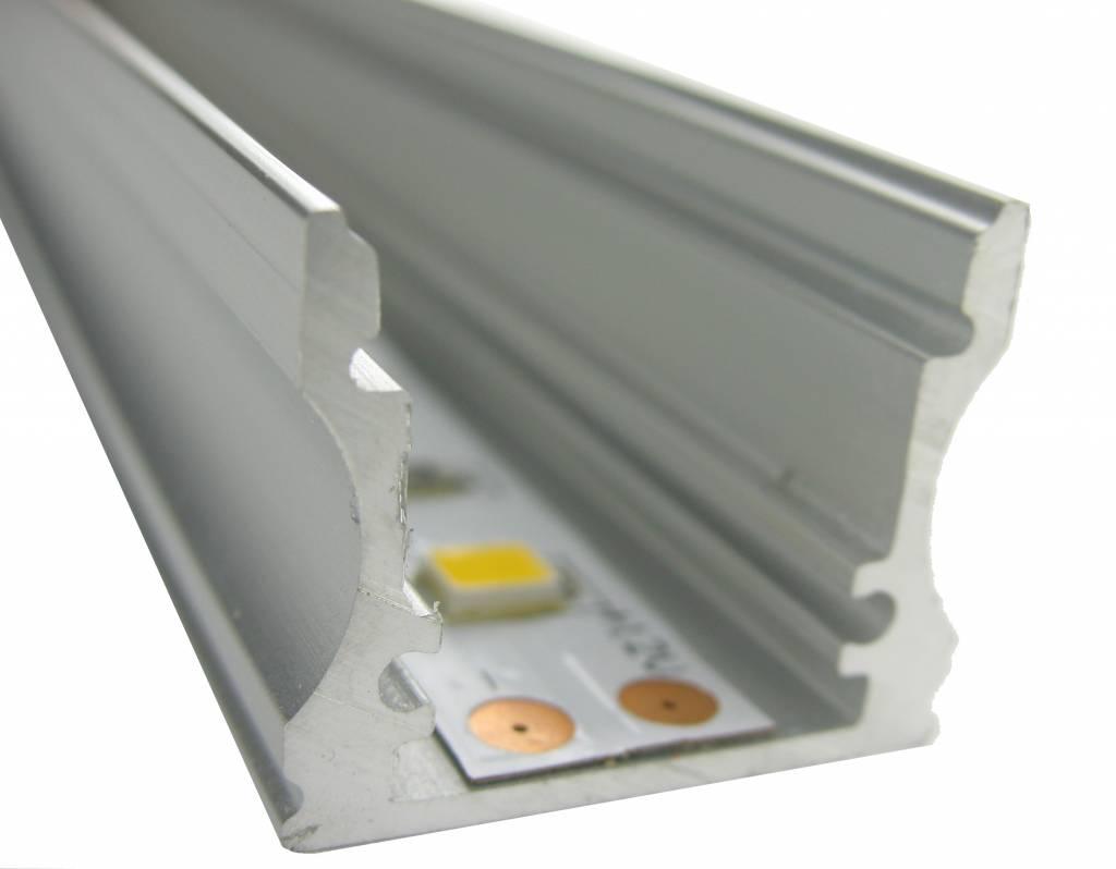 aluminum u profile 100cm groothandel xl. Black Bedroom Furniture Sets. Home Design Ideas
