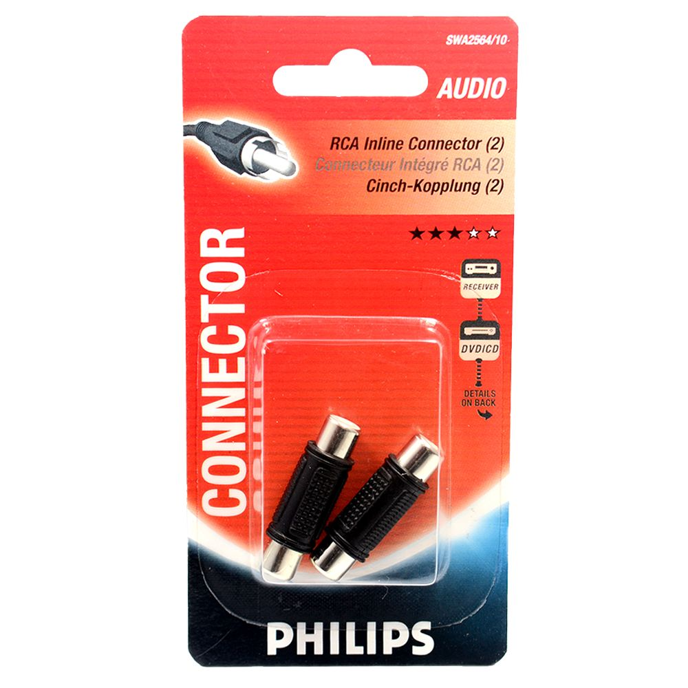 Philips In-line<br>Connector RCA RCA