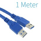 USB 3.0 Male - Male Kabel 1 Meter