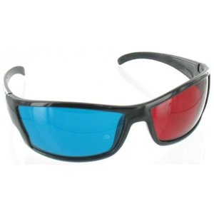 3D-Brille Rot Cyan +