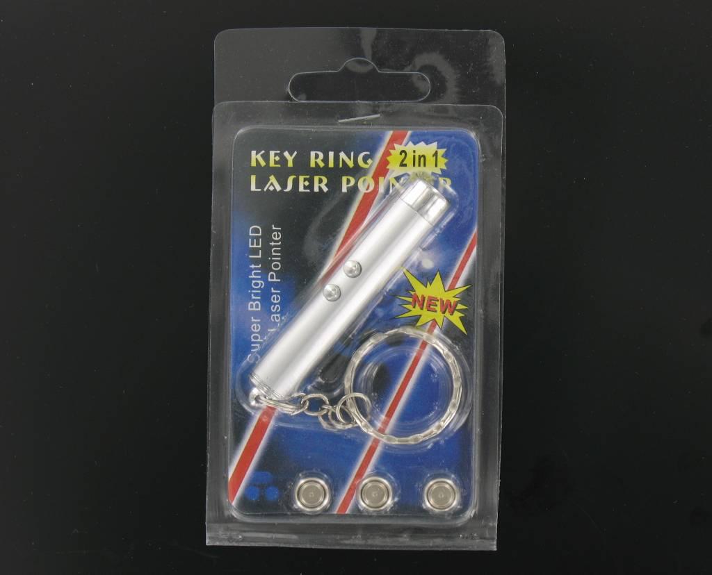 Key 2 in 1 Laser + LED-Taschenlampe