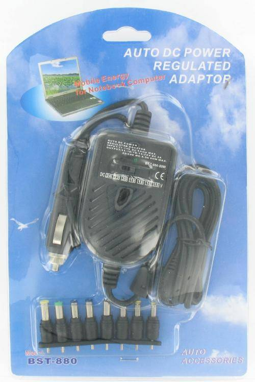 Car Power Adapter<br> for Laptops and<br>Netbooks