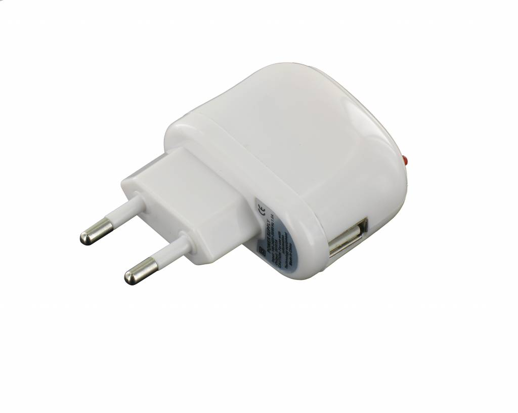 USB AC Charger 1<br>AmpÚre White