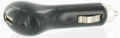 USB Car Charger<br>1000mAh Schwarz
