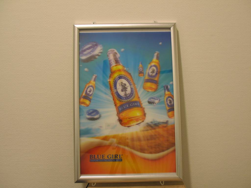 Led Display Poster Bord Met Aluminium Frame 30 X 40 Cm