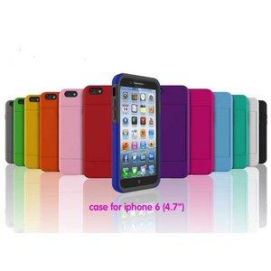 iPhone 6 Bescherm Hoesje met pasjes houder (4,7'')