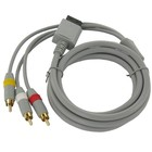 Wii-AV-Kabel mit 3 x Cinch