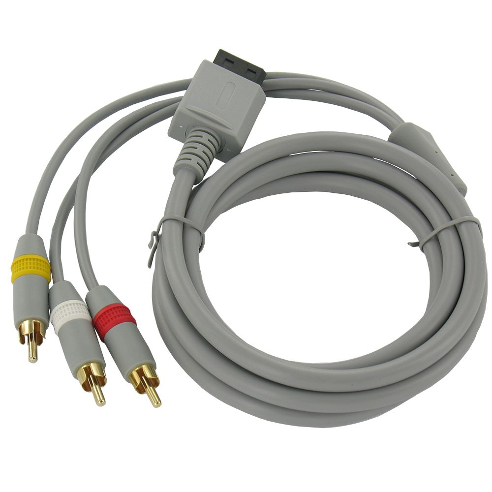 Wii AV cable with 3 RCA plugs - Groothandel-XL