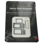 Nano en Micro SIM adapter voor Smartphones en Tablets
