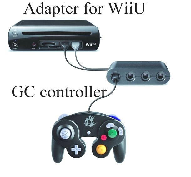 4 player wii games gamecube controller