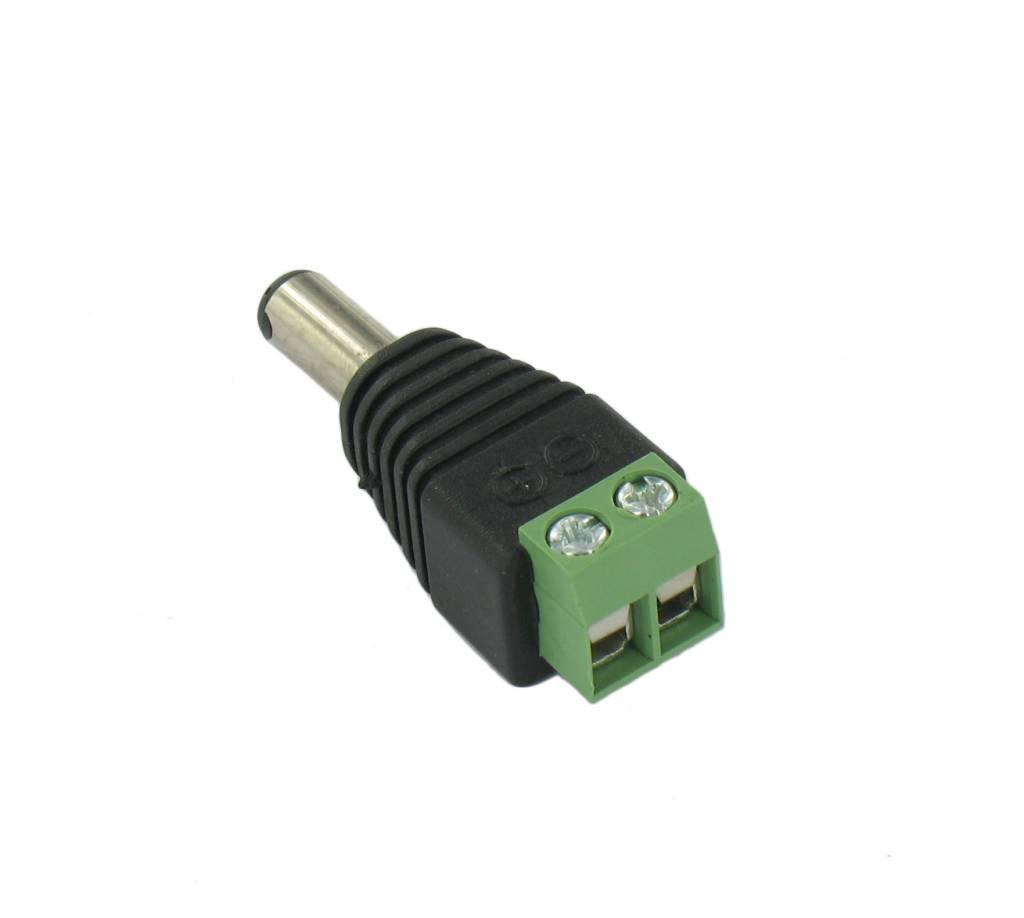 LED Buchse DC Jack Stecker auf Draht-Verbindungs - Groothandel-XL