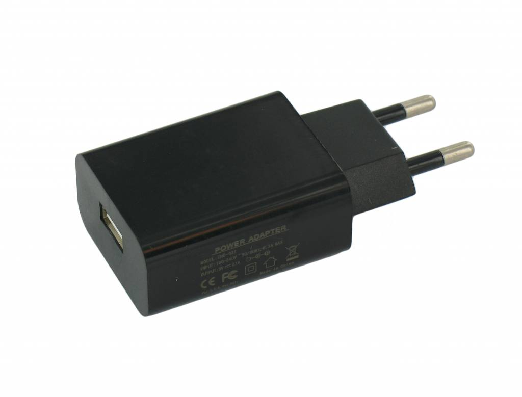 USB-Netzladegerät mit 2,1 Ampere Ausgangs