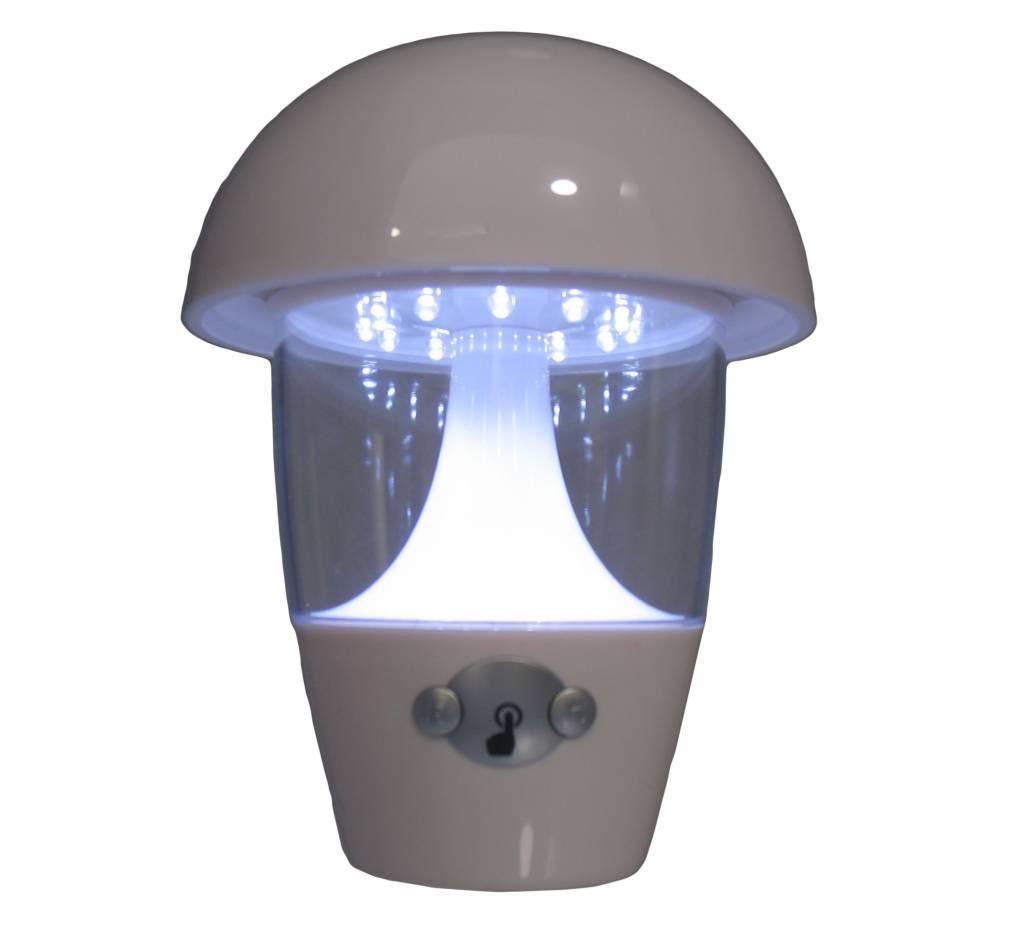 LED-Pilz mit Musik