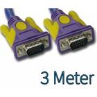 SVGA-Monitor Kabel 3m