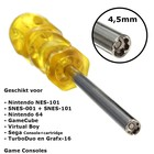 Schraubendreher 4,5mm für Retro-Konsolen