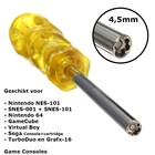 Schroevendraaier 4,5mm voor Retro Consoles