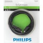 Philips Super-VGA (SVGA) videokabel – 5M – Male -> Male