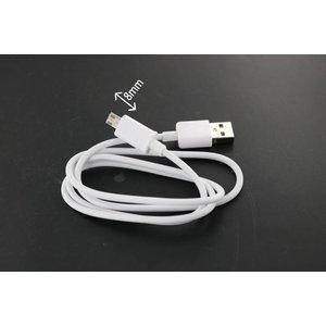 Dolphix USB 2.0 zum Mikro-USB-Kabel 1m mit Stecker 8mm