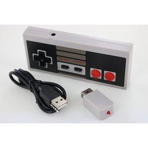 Dolphix Wireless Controller mit Mini-Batterie für NES
