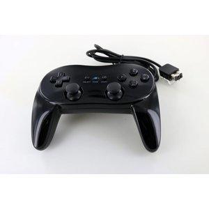 Controller bedraad Classic Pro Zwart voor Wii