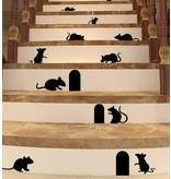 Muursticker muizenplaag