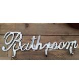 Light&Living Aluminium kapstok Bathroom