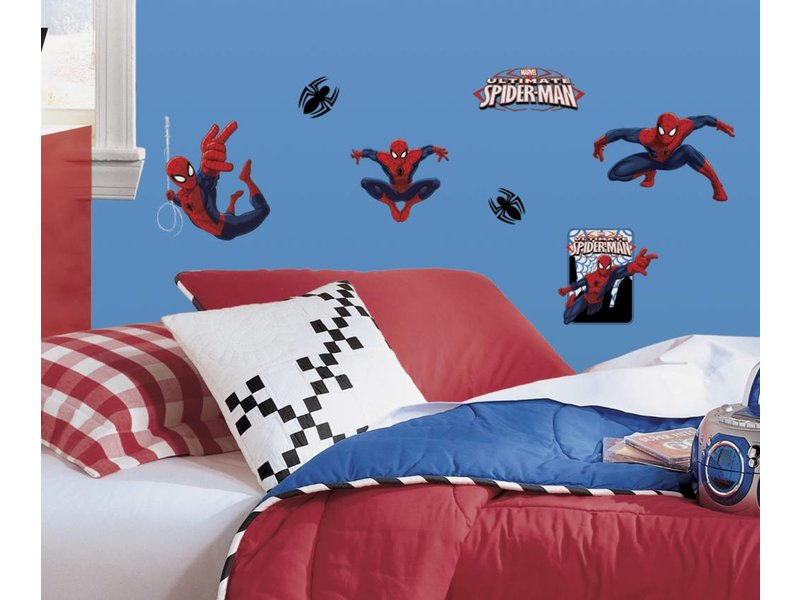 Marvel Ultimate Spiderman kleine muurstickers
