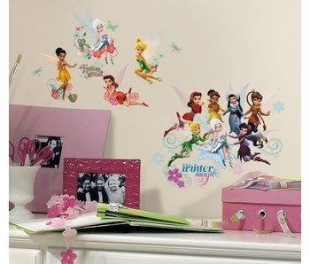 Disney Winter elfjes en feeën muursticker