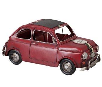 Clayre & Eef Metalen Fiat 500 italia