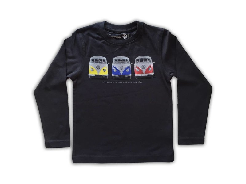Volkswagen Officieel VW T1 shirt met naam