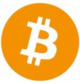 Bitcoin sticker set rond