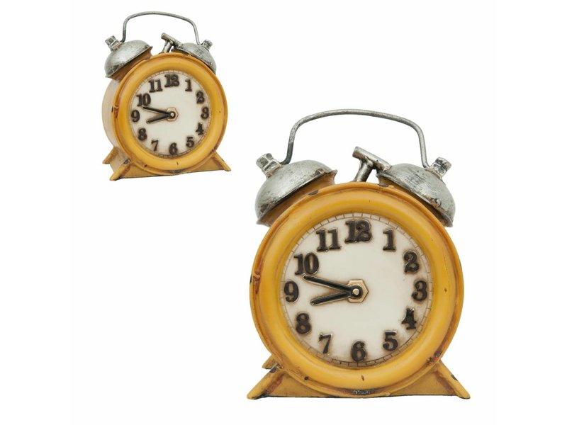 Clayre & Eef Gele wekker lamp