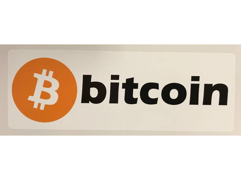 Bitcoin sticker (3x)