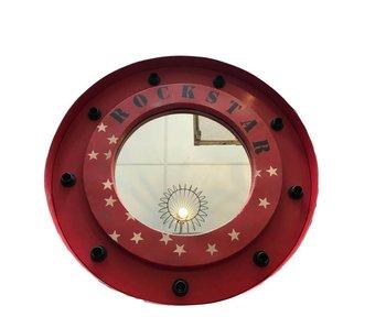 Rockstar spiegellamp