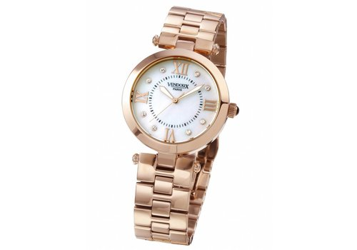 VENDOUX The Orsay Rose Gold/Pearl