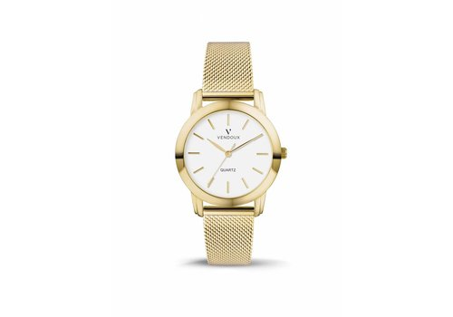VENDOUX The Stockholm Small Gold/White