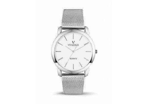 VENDOUX The Slim Silver/White