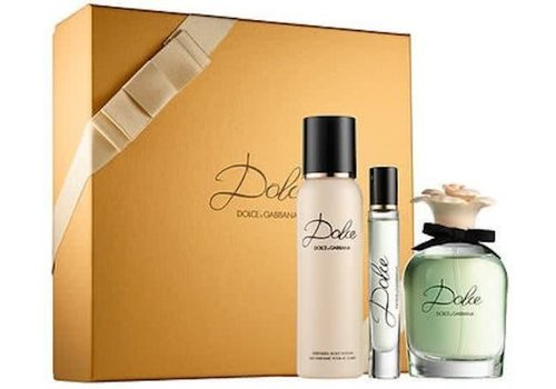 Dolce & Gabbana Dolce & Gabbana Dolce EDP 75 ml + 100 ml Body Lotion + 100 ml Shower Gel Cadeauset
