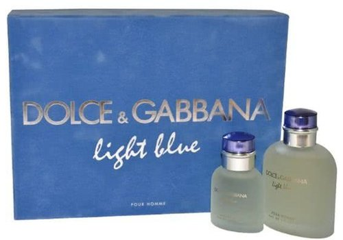 Dolce & Gabbana Dolce and Gabbana Light Blue man - 2 delig - Geschenkset