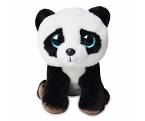 Pandasia Cuddly Toy Panda - blue eyes 8""