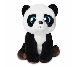 Pandasia Cuddly Toy Panda - blue eyes 11""
