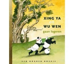 Pandasia The Gouden Boekje 'Xing Ya en Wu Wen gaan logeren'