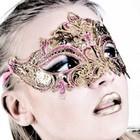 Luna Veneziana Masker - Sandra (gold)