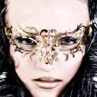 Luna Veneziana Masker - Frederica (gold)