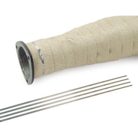 Heat Shieldings RVS tyrap   SS304   360mm x 4.6mm   ball lok