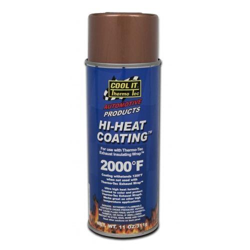 Zeer Hittebestendige coating, verf, zwart, 1100℃ | Heat Shieldings #UK38