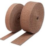 Thermo-Tec Koper 2.5cm x 15m Hitteband | Uitlaatband | Isolatieband | Heat Wrap | Uitlaat tape