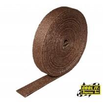 Koper 2.5cm x 15m Uitlaatband | Hitteband