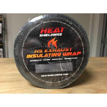 Heat Shieldings Thermoband 5cm x 15m Grau