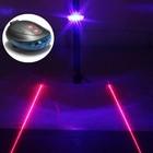 Fietslamp achterlicht laser led blauw